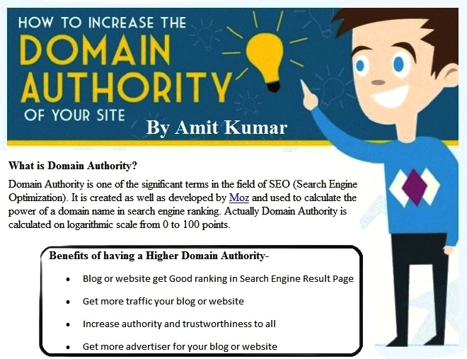 How to Increase Domain Authority?