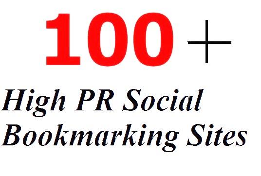 100+ High PR Social Bookmarking Sites List 2015