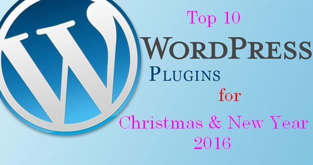 Top 10 Special WordPress Plugins for Christmas & New Year