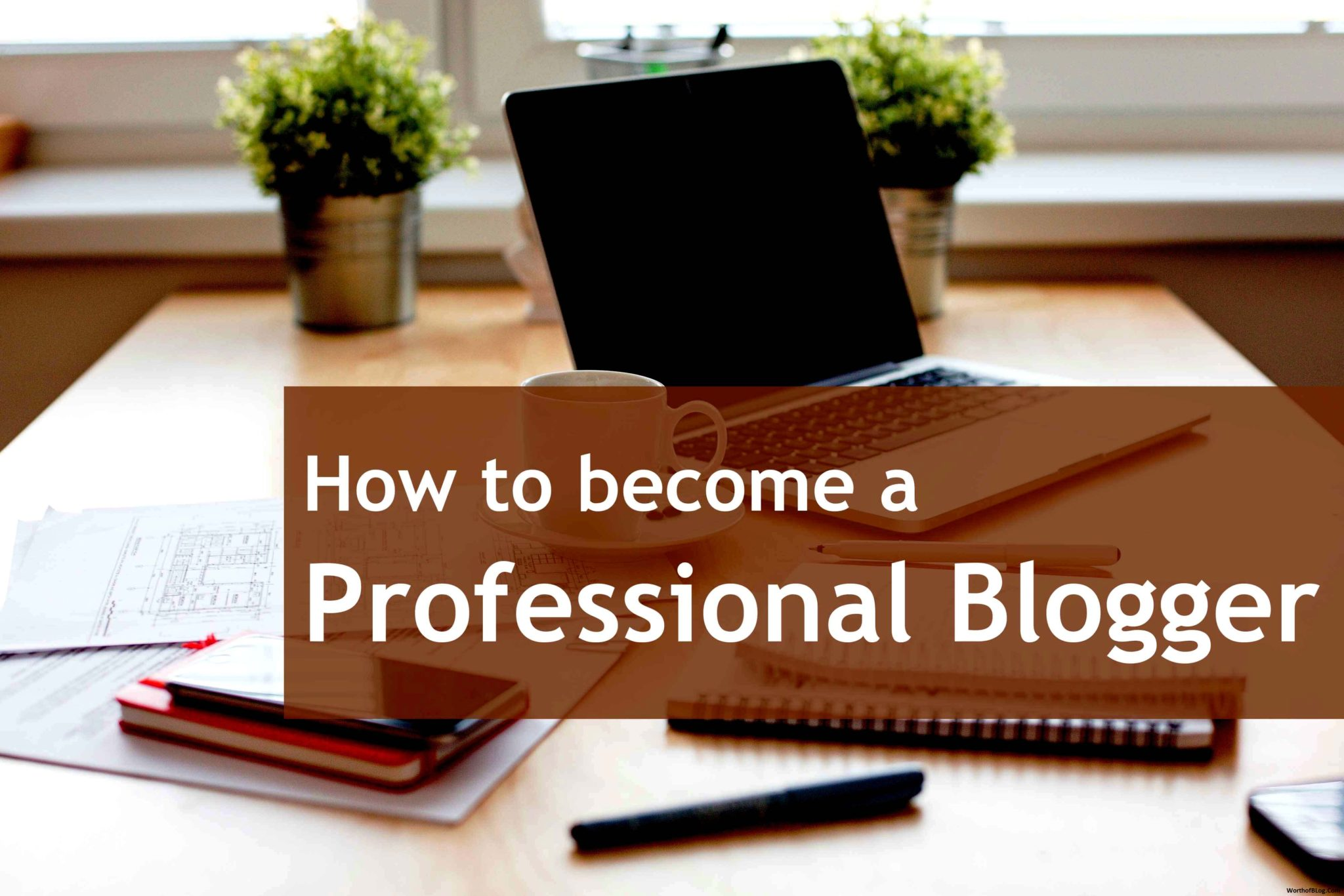 How to Be a Professional Blogger recommendations