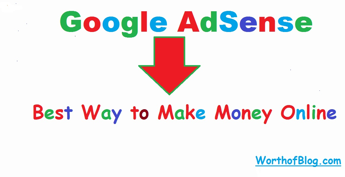 Google AdSense – Best Way to Make Money Online
