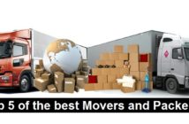 Top 5 of the best Movers and Packers
