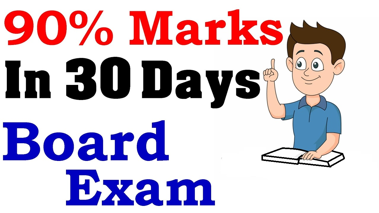 How To Score Good Marks In Board Exam of X and XII in Short Time