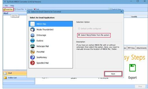How to Open MBOX emails without Mozilla Thunderbird in Outlook