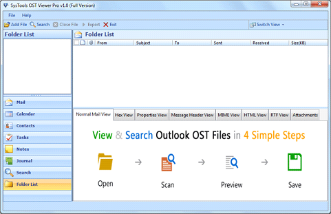 How to open and view corrupted OST file