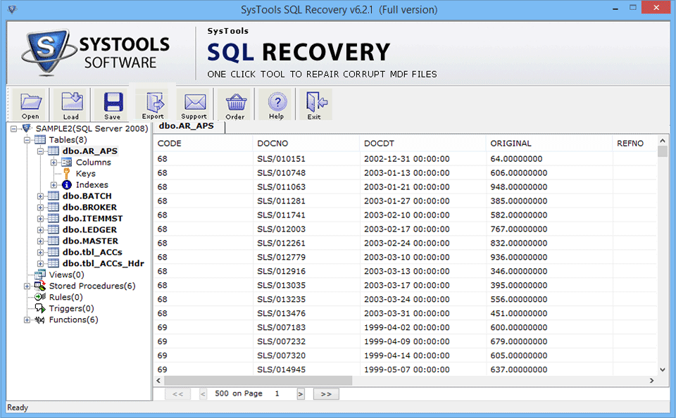 SQL Data Recovery Software To Repair Corrupt MDF File
