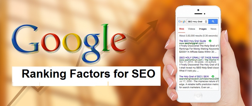 Top 20 Google Ranking Factors for SEO