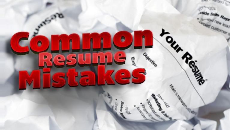 Top 5 Common Resume Mistakes