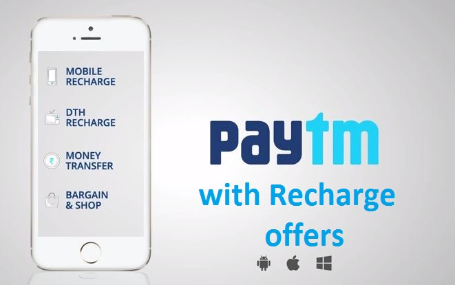 PayTm with Recharge offers